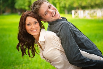 couple after teeth whitening