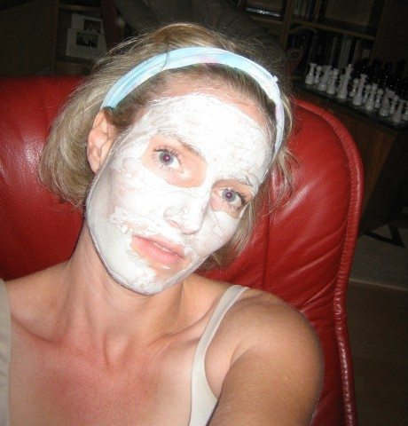 You might want to use a face mask after using a face exfoliator.