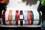 This is my Gossip brand watch with 12 interchangeable watch straps.
