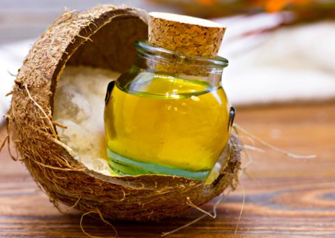 All natural honey and coconut oil are great moisturizers for dry skin!