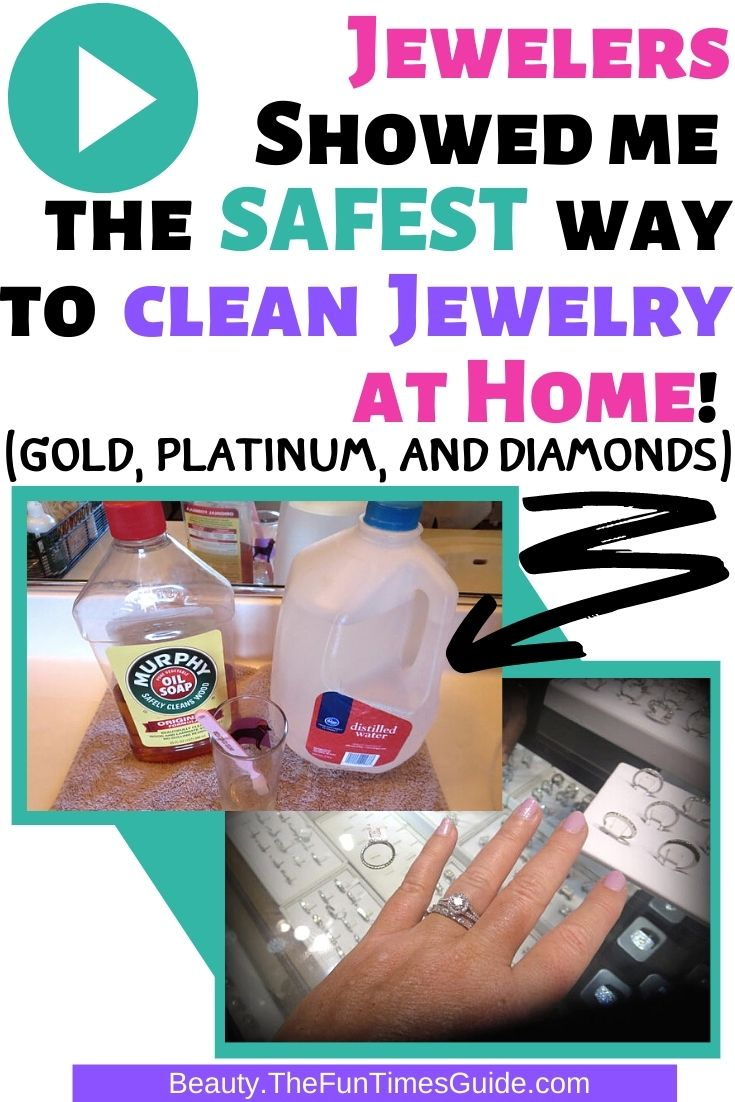 How To Clean Jewelry At Home: Tips For Cleaning Yellow Gold, White Gold, Platinum ...And Diamonds!